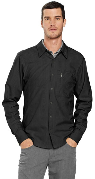 Nau M's LightBeam Shirt Caviar Stripe (015)